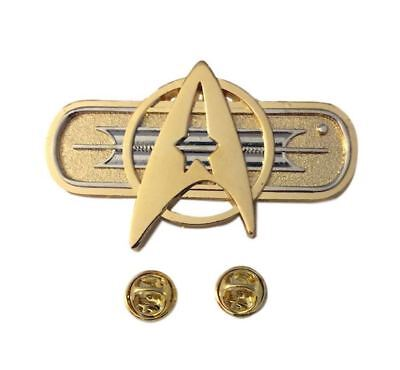 Star Trek Classic Movie Deluxe Federation Chest Insignia Metal Pin