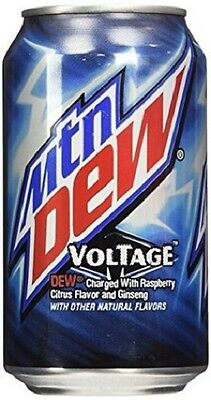 Mountain Dew Voltage 355 ml (Pack of 12)- Free Shipping