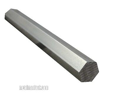 Stainless steel Hex 303 14mm AF x 250mm long