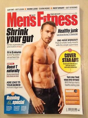 Men's Fitness magazine - November 2017