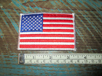 New Medium American Flag Racing Patch Nascar Scca Alms Indy Cart Irl Imsa Nhra
