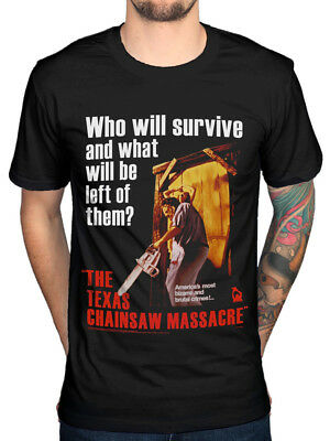 Official Plan 9 Texas Chainsaw Massacre Poster T-Shirt Movie Horror Leatherface