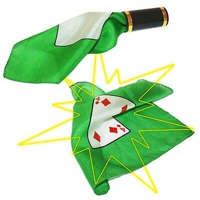 MAGIA BLOWING CARD BLENDO foulard carte gioco trucco prestigio