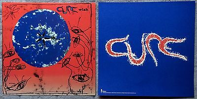 The Cure Wish RARE 12 x 12 promo poster flat '92