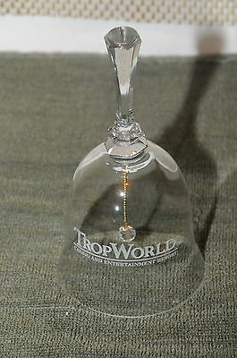 "Rare ""  Crystal Bell ""  Trop World Casino & Resort"