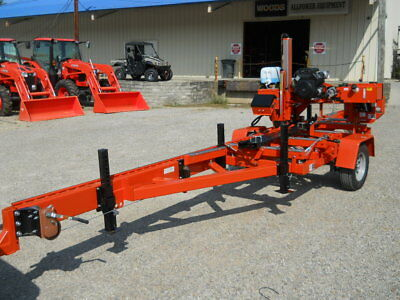Wood-Mizer LT35 Portable Sawmill, Like New, Only 50 Hrs
