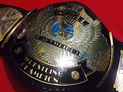 WWF WINGED EAGLE DUAL PLATED WRESTLING CHAMPIONSHIP BELT IN 4MM Thick BRASS