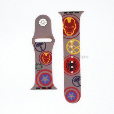 Authentic Disney Marvel Avengers Bracelet Replacement Band For Apple Watch 42mm