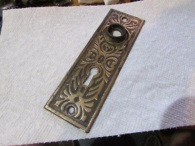 ORIGINAL BRASS Plated door knob back plate