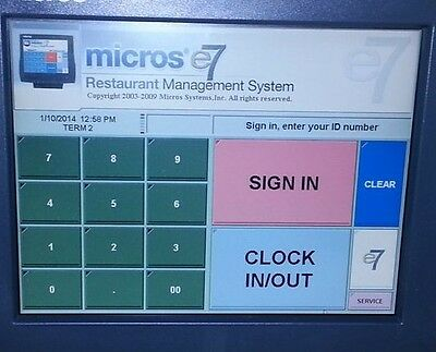 Micros E7 Pos Programming Support, Database Programming