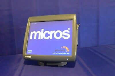 Micros Pos Terminal Ws-5A Res, 3700, 9700, E7  W/ New Glass & 1 Year Warranty