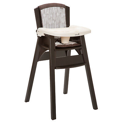 Safety 1st Beaumont Wood High Chair, Utensils
