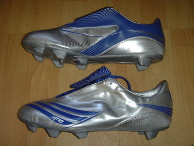 Adidas F10.7 Soccer Boots F 10 Football Soft Ground Shoes Grey NEW