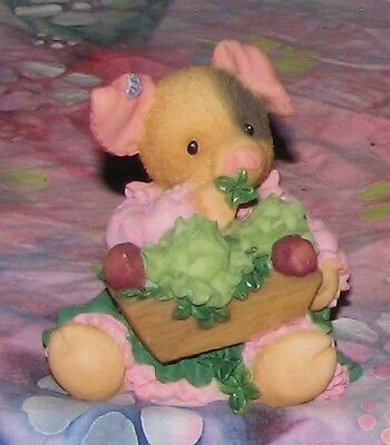 1997 Enesco This Little Piggy SOW LUCKY Figurine 299671