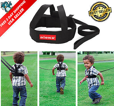 Baby Toddler Safety Leash Kids Walking Harness Sure Steps Child Belt Black USA
