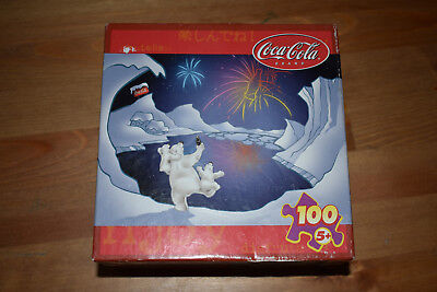 Coca Cola Three Cheers 100 Piece Jigsaw Puzzle By Rose Art New Sealed