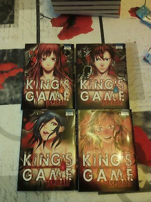 King's Game spiral (tome 1 à 4 serie complète)