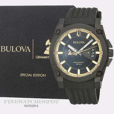 Authentic Bulova Men's Precisionst Grammy's Special Edition Watch 98B294