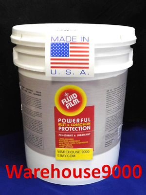 5 GALLON PAIL FLUID FILM An Environmentally SAFE Rust Proof SAVE MONEY MAKE CASH