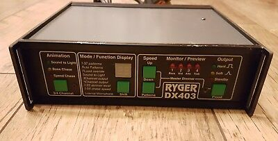 Ryger DX403 Lighting Controller Chaser 4 Channel Sound To Light