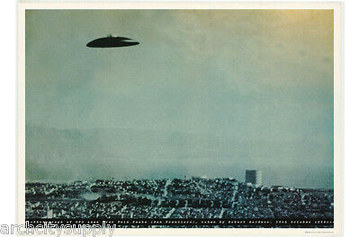 Lot Of 2 Posters : Science Ficton :ufo  Seen San Francisco   #fpo347    Lw18 K