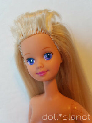 SKIPPER DOLL - Babysitter 90's blonde hair Barbie sister nude collectible 10""