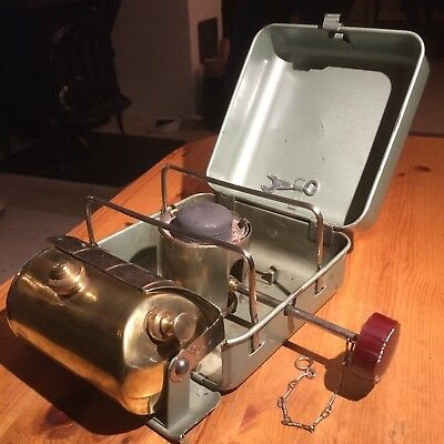 Original vintage OPTIMUS HIKER no 111 T primus stove with new burner assembled