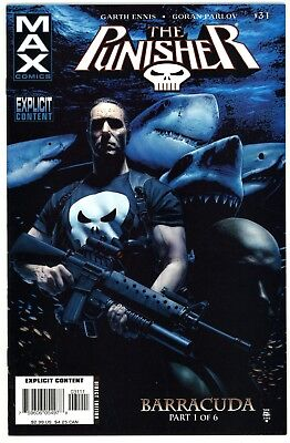 Punisher (2004 Max) #31 VF+ First Appearance of Barracuda