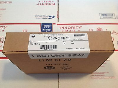 2017 NEW *SEALED* Allen Bradley 1756-L85E /B ControlLogix Processor ** USA **