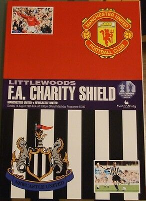 MANCHESTER UNITED v NEWCASTLE UNITED FA CHARITY SHIELD FINAL 1996