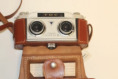 TDC Stereo Colorist II 35mm Film Camera with Case