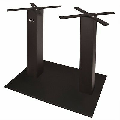 New Palermo Table Height Double Base with Black Powder Coat