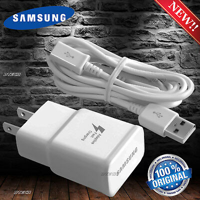 New Original Samsung Galaxy S6 S7 Edge Note 4 Note 5 Adaptive Fast Rapid Charger
