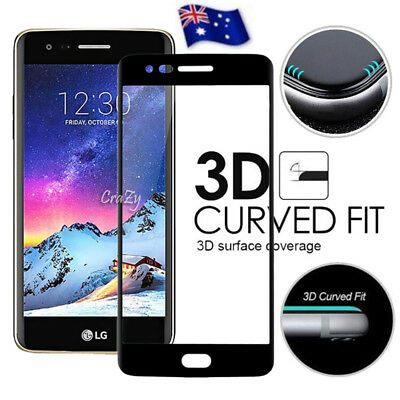 3D Full Coverage Tempered Glass LCD Screen Protector For LG K4 2017 | LG K8 2017