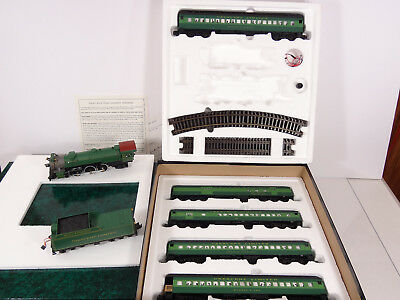 American Models S Gauge Southern Steam Set #329 AC Flyer w/ Chug Smoke Whistle