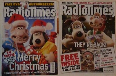 Wallace and Gromit RADIO TIMES Covers only AARDMAN ANIMATIONS