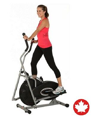 Elliptical Exercise Workout Machine Gym Indoor Fitness Trainer Cardio Equipment