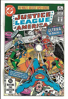 Justice League Of America # 201 (Apr 1982), Nm