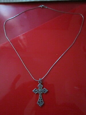 chain with antique cross