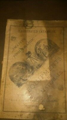 Anthonys Illustrated Catalogue Book On Photographic
