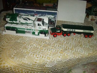 LOT OF (2) HESS 2014 50TH ANNIVERSARY TOY TRUCK and SPACE CRUISER & 1970s TRUCK