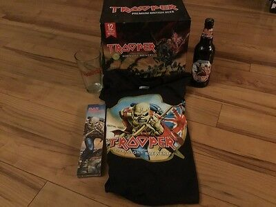 Iron Maiden - The Trooper Bundle! Watch, T-shirt and more!  L@@K!
