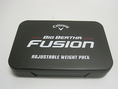 Great Big Bertha Fusion Adjustable Weight Pack To Fit Driver
