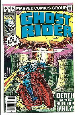 GHOST RIDER (Vol.1) # 40 (JAN 1980), VF/NM