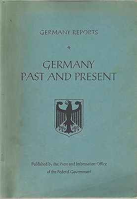 RARE Germany Reports (Federal Government): Germany Past and Present (1961)