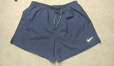 Nike Dri-Fit Medium Black Lined Athletic Running Shorts Mens XL