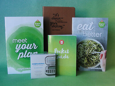 Weight Watchers 2017 Smart Points WELCOME KIT: Guides + Calculator + Journal