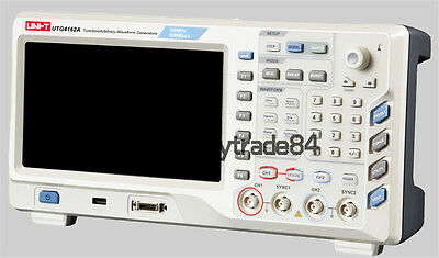 "UTG4162A 2CH 160MHz 500MSa 8"" TFT LCD Arbitrary Waveform Function Generator"