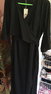 BNWT Maternity dress, black sizes 12 or 14, RRP $49, $20ea or both for $35