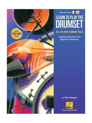 Learn to Play The Drumset – All-In-One Combo Pack Batterie Partitions